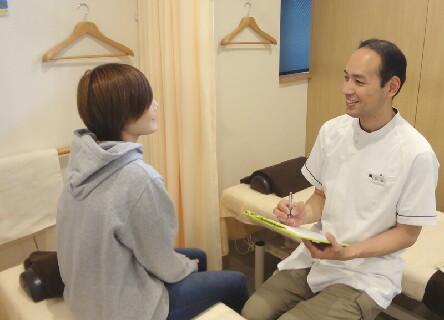 グループ院は自費診療が全体の8割!じっくりと向きあった施術ができます。
