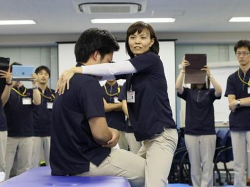 入社時は、研修専用のトレーニングセンターで充実の研修をご用意♪《東証マザーズ上場・完全週休2日・賞与年2回》