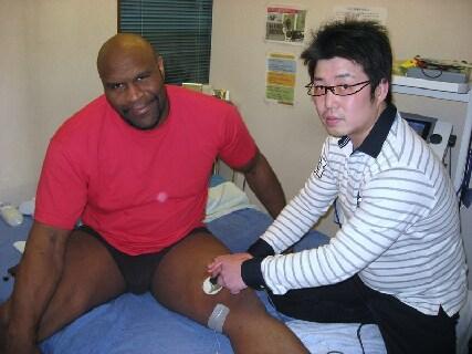 圧倒的な外傷技術!外傷を治せる力を育てます!総院長はオリンピックなどでトレーナーとして活躍中!