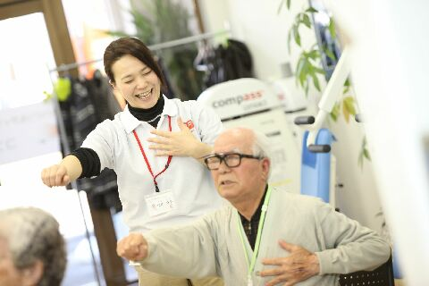福島駅からスグ!大手デイサービスの新規オープニングスタッフ募集!